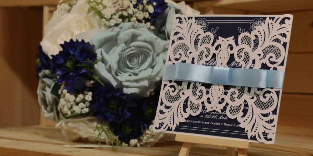 Svadobná téma: Folklór v bielej a modrej