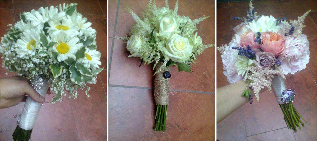 folklórne svadobné kytice