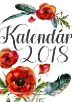 kalendar 2018 kvetinovy