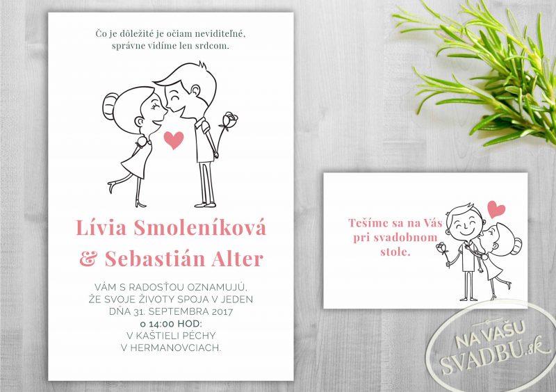 kreslene-svadobne-oznamenie-milenci-pink