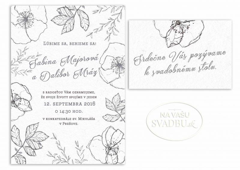 kvetinove-svadobne-oznamenie-uhlikova-kresba