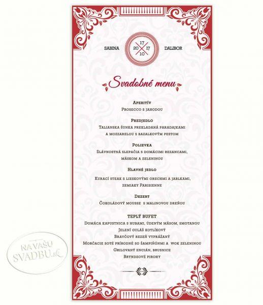 svadobne-menu-fuchsiove-s-ornamentom