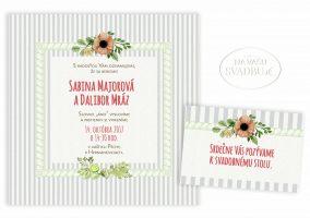 svadobne-oznamenie-stvorcove-pruhovane-s-ramom-a-kvetmi