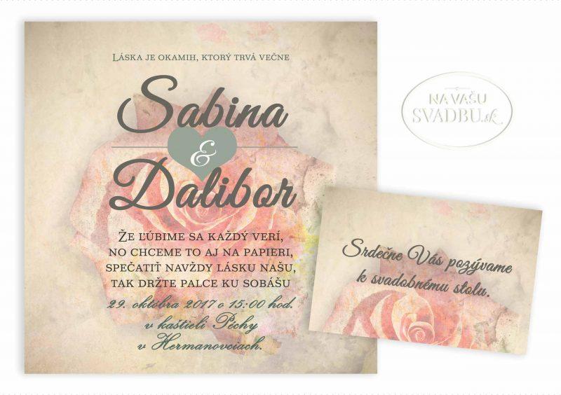 svadobne-oznamenie-stvorcove-vintage-s-ruzou