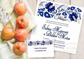 svadobne-oznamenie-folklorne-modrotlac-s-ornamentom