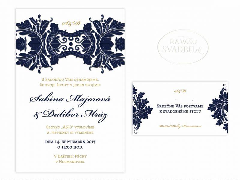 svadobne-oznamenie-modro-zlate-damaskove